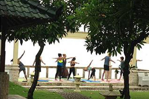 bali retreat activities